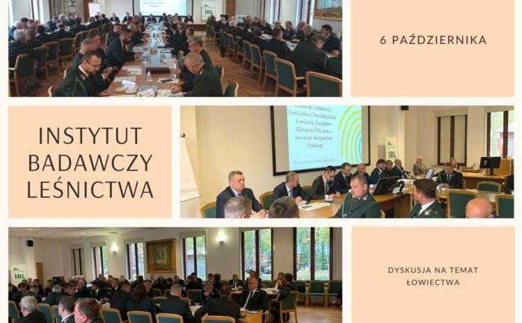 Spotkanie przedstawicieli Polskiego Związku Łowieckiego z pełnomocnikiem rządu ds. leśnictwa i łowiectwa Edwardem Siarką